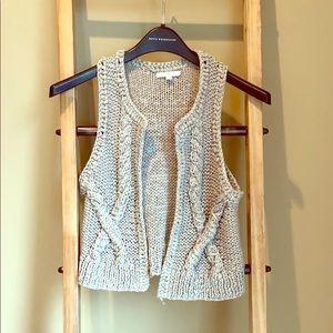 Gap knit vest